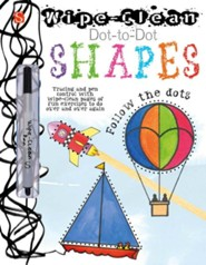 Wipe Clean Dot-to-Dot: Shapes