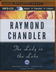 Lady in the Lake, The - unabridged audio book on MP3-CD