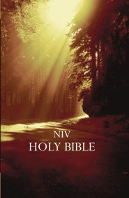 NIV Outreach Bible--softcover, forest
