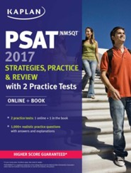 Kaplan PSAT/NMSQT 2017 Strategies, Practice, and Review with 2 Practice Tests