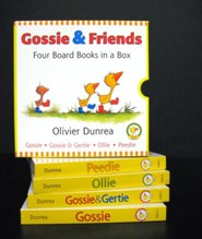 Gossie and Friends Board Book Set  -     By: Olivier Dunrea