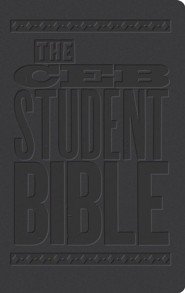 The CEB Student Bible, DecoTone Black