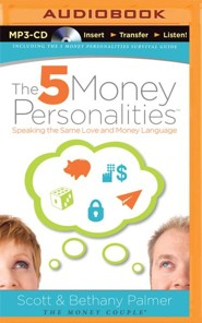 The Five Money Personalities, Unabridged MP3-CD