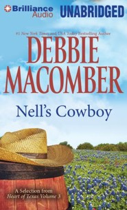 Nell's Cowboy - unabridged audiobook on MP3-CD