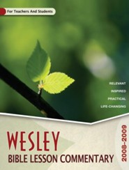 Wesley Bible Lesson Commentary Volume 1
