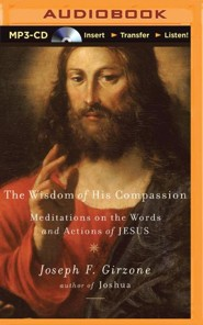 The Wisdom of His Compassion: Meditations on the Words and Actions of Jesus - unabridged audio book on MP3-CD