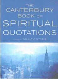 The Canterbury Book of Spiritual Quotations - Slightly Imperfect