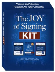 The Joy of Signing Kit