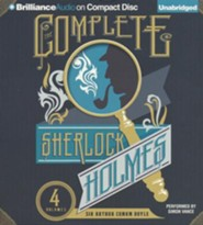 Complete Sherlock Holmes - unabridged audio book on MP3-CD