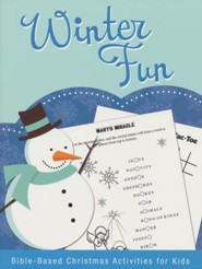 Winter Fun: Bible-Based Christmas Activities for Kids