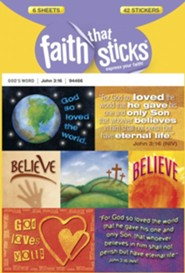Stickers: John 3:16