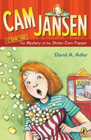 Mystery of the Stolen Corn Popper  -     By: David A. Adler     Illustrated By: Susanna Natti