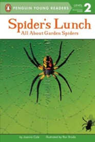 Spider's Lunch, Level 2 - Progressing Reader   -     By: R.A. Herman     Illustrated By: Betina Ogden