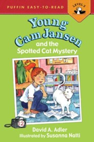 Spotted Cat Mystery    -     By: David A. Adler     Illustrated By: Susanna Natti