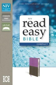NIV ReadEasy Bible, Dard Orchid/Chocolate Imitation Leather