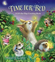 Time For Bed!: A Lift-the-Flap Counting Boardbook