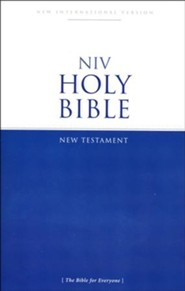 NIV New Testament Outreach Bible  - Slightly Imperfect