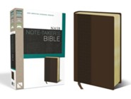 NASB Note-Taker's Bible, Italian Duo-Tone