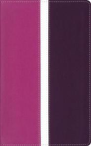 Imitation Leather Purple / Pink Thumb Index