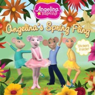 Angelina's Spring Fling, Includes Stickers