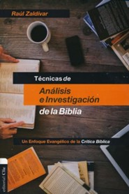 Techniques of Analysis and Investigation of the Bible, Spanish