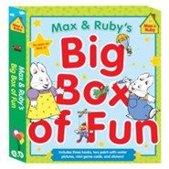 Max & Ruby's Big Box of Fun: Includes Three Books, Two Paint-With-Water Pictures, Stickers, and Mini Gamecards
