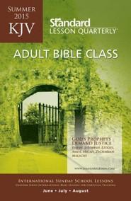 KJV Adult Bible Class, Summer 2015