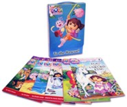 To the Rescue!: Dora's Mystery of the Missing Shoes; Dora Helps Diego!; Dora and the Unicorn King; Crystal Kingdom Adventures; Dora and the Baby Crab; Dora's Snow Forest Adventure  -