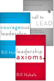 Hybels Leadership 3-Pack   -     By: Bill Hybels