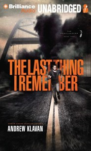 #1: The Last Thing I Remember - unabridged audiobook on MP3-CD