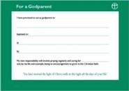 Godparent Certificates