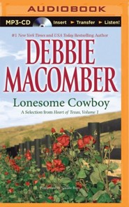 Lonesome Cowboy: A Selection from Heart of Texas, Volume 1 - unabridged audiobook on MP3-CD