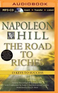 Napoleon Hill, The Road to Riches: 13 Keys to Success - unabridged audiobook on CD
