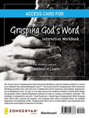 Access Card for Grasping God's Word Interactive Workbook