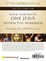 Access Card for Four Portraits, One Jesus Interactive Workbook