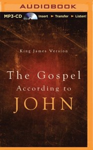 The Gospel According to St. John - unabridged audiobook on MP3-CD