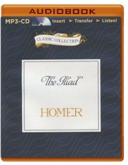 The Iliad - unabridged audiobook on MP3-CD