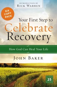 Your First Step to Celebrate Recovery Pack