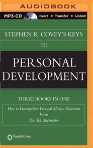 Stephen R. Covey's Keys to Personal Development - unabridged audiobook on CD