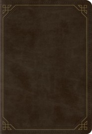 ESV Pocket New Testament with Psalms and Proverbs TruTone Imitation Leather, Olive, Frame Design