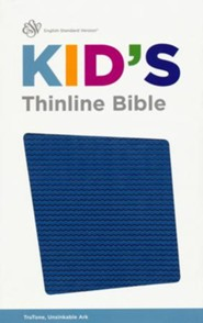 ESV Kid's Thinline Bible, TruTone Imitation Leather, Unsinkable Ark