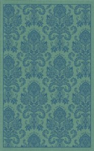 ESV Personal Reference Bible, Cloth Over Board, Damask