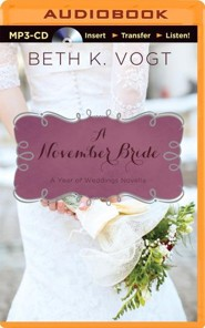 A November Bride - unabridged audiobook on MP3-CD