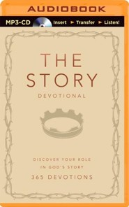 The Story Devotional: Discover Your Role in God's Story - unabridged audiobook on MP3-CD