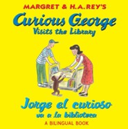 Curious George Visits the Library/Jorge el curioso  -     By: H.A. Rey