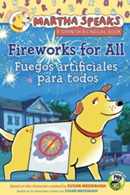 Martha Speaks: Fireworks for All! Bilingual Edition (Reader)