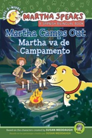 Martha Speaks: Martha Camps Out Bilingual Edition (Reader)
