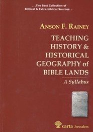 Teaching History & Historical Geography of Bible Lands - A Syllabus