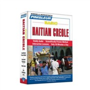 Haitian Creole, Basic: Learn to Speak and Understand Haitian Creole with Pimsleur Language Programs Audiobook on CD  -     By: Pimsleur