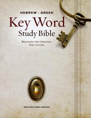 KJV Hebrew-Greek Key Word Study Bible, Hardcover